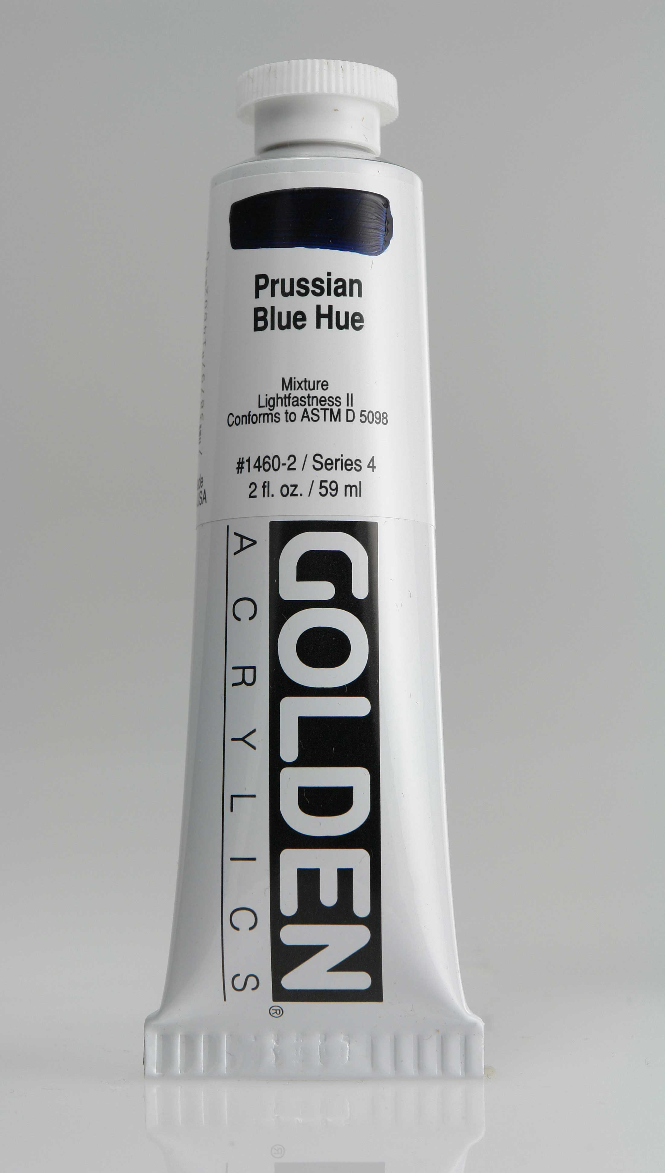 Prussian Blue Hue 2 oz Golden Acrylic
