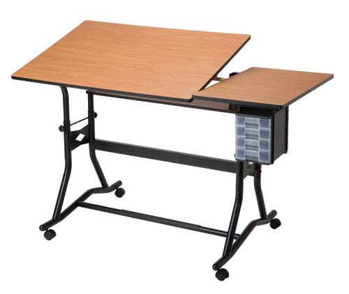 Alvin amp Co Inc Craftmaster IIi Drafting Art Table Split Top