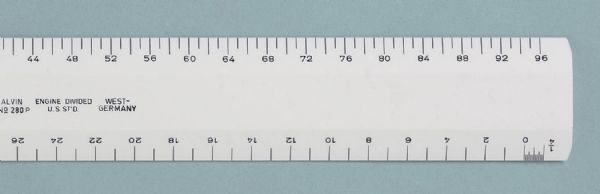 Plastic Scale 2 Bevel Arch 12 Inch