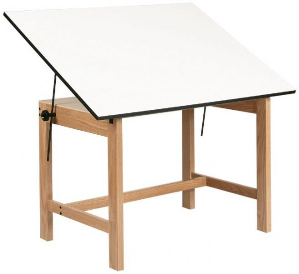 Alvin Drafting Table Titan Wood Table 37.5X60X30 No Drawer