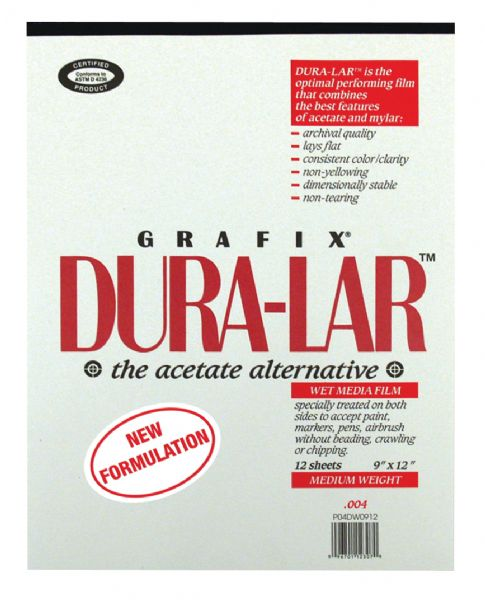 Grafix Wet Media Duralar 9X12 12 Pd