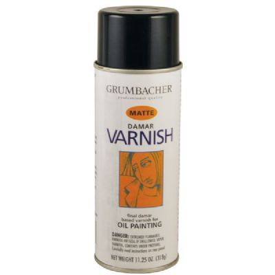 Damar Varnish Matte Spray 11.25oz