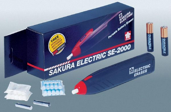 Sakura Electric Eraser