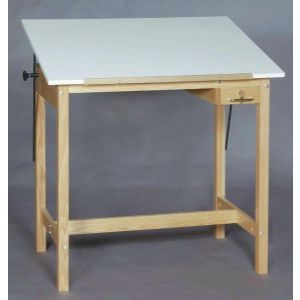 Smi 4 Post Drafting Table 30X42X37H