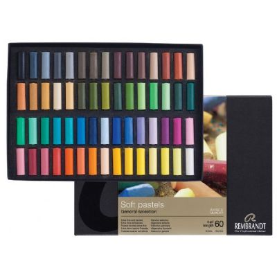 60 Half Sticks Rembrandt Pastel Set