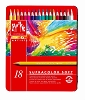 Caran D'Ae Supracolor Soft Water Soluble Color Pencils 18 Set