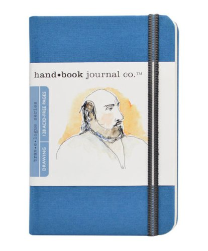 Handbook Journal Co Ultramarine Blue 5.5.x3.5 Pocket Portrait Drawing Book