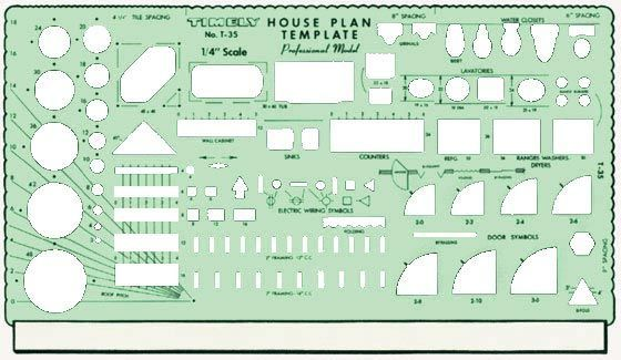 Template Prof. House Plan