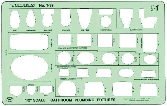 Template Bathroom Plumbing