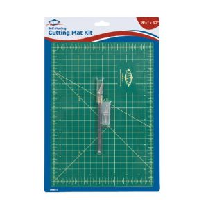 Cutting Mat W Knife 8.5X12