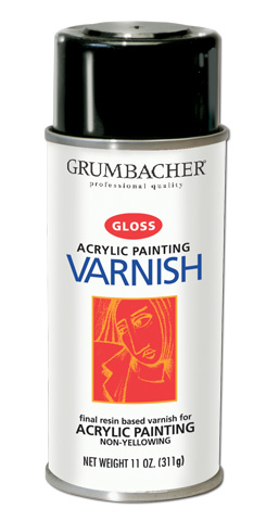 Grumbacher Spray Varnish