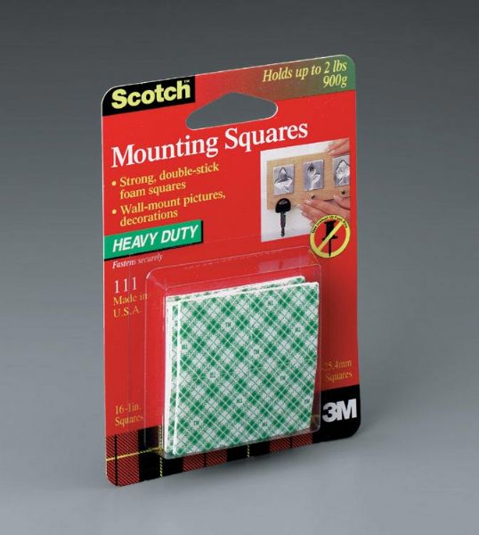 3M Heavy Duty Mounting Squares