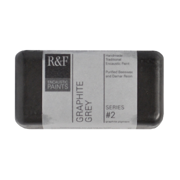 40ml R&F Encaustic Graphite Grey