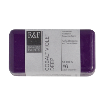 40ml R&F Encaustic Cobalt Violet Deep