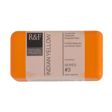 40ml R&F Encaustic Indian Yellow