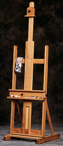 Classic Dulce Oak Studio Easel by BEST