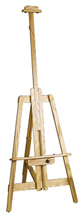 Lite B-Best Oak Lyre Easel by BEST
