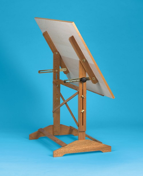 Alvin Drafting Table Pavillon Wood Table With Natur 31x42 Top