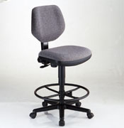 Classic Drafting Chair Grey