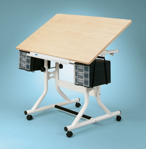 Alvin Drafting Table Craftmaster 24X40 Woodgrain Tp