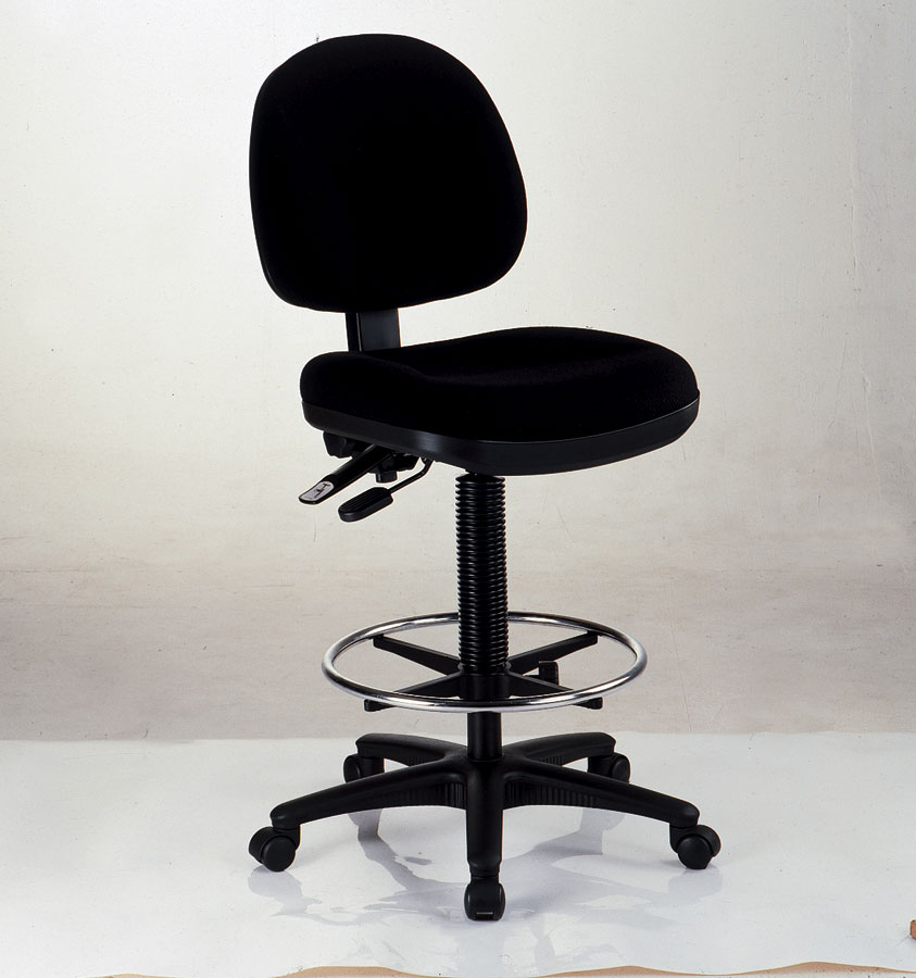 & Alvin Prestige Drafting Chair Black | Alvin| Art Supply.com
