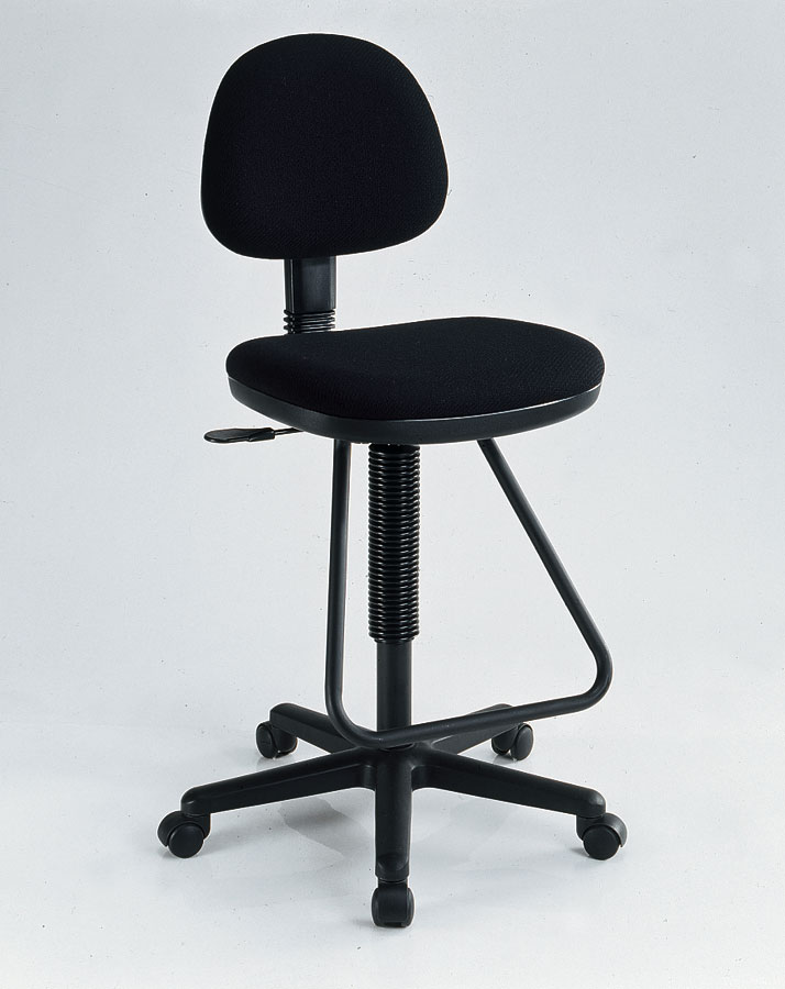 Viceroy Black Drafting Chair