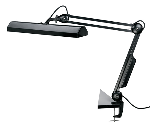 Fluorescent Task Light Black
