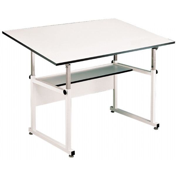 Alvin Drafting Table Workmaster Black Base With 37.5X72 top
