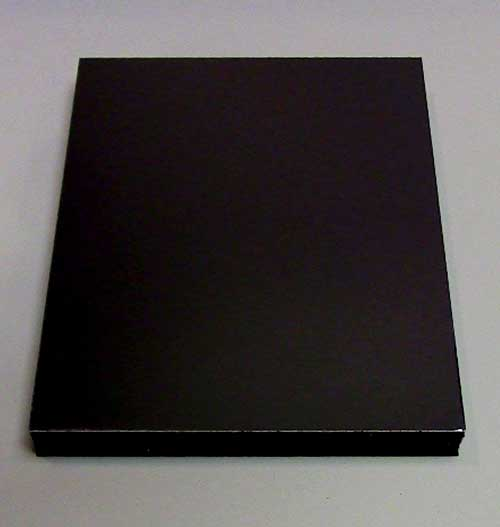12 x 18 x 3/16 Black Ultra Board 15 Pieces