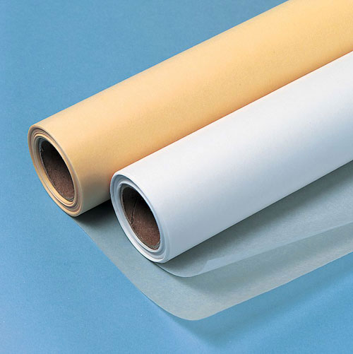 "Lightweight White Tracing Paper Roll 6"" x 50yd"