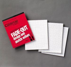 16 lb. Clearprint Grid Vellum 11 x 17 10 x 10 50 Sheet Pad