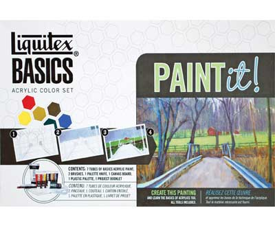 Liquitex Basics Acrylic Color Paint Set