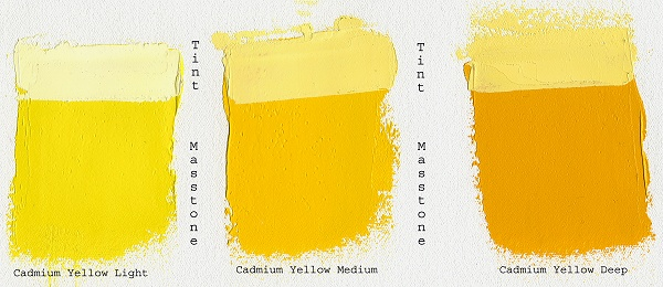 Gamblin Artist Oils 37 ml Cadmium Yellow Light
