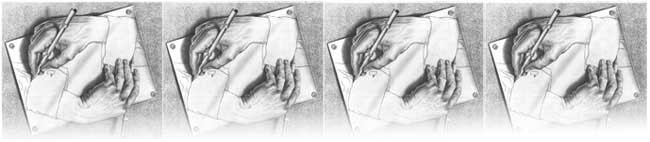 drawing hands by escher