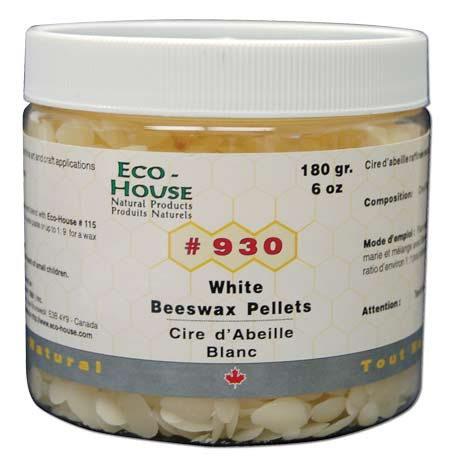 White Beeswax Pellets, 6oz.