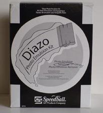 Diazo Photo Emulsion Kit