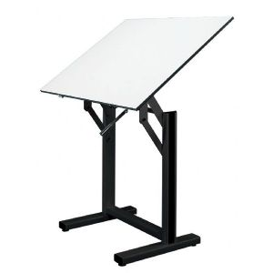 Alvin Drafting Table Ensign Black Base With 31 X42  Top