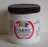 8 oz Fabric Screen Printing Ink Peacock Blue