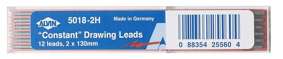 2mm Drawing Leads 12 Pack 2H