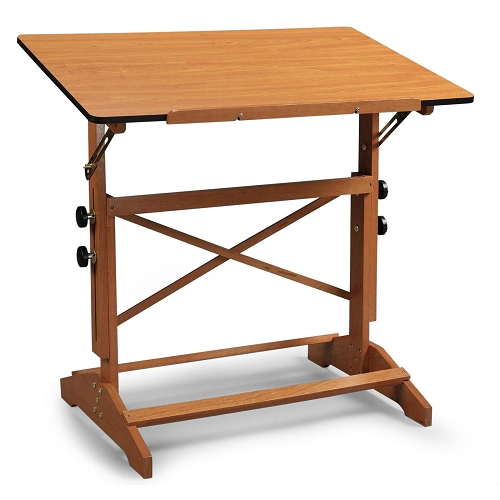 Alvin Drafting Table Pavillon 24X36 Cherry Top