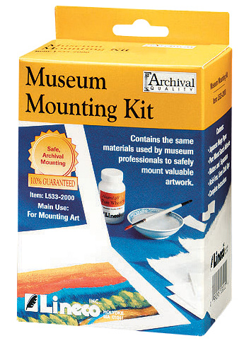Lineco Archival Museum Mounting Kit