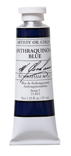 M Graham Oil Paint Anthraquinone Blue 37ml