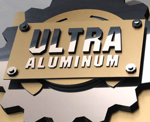 "1/2"" Brushed Chrome Ultra Aluminum Board 12 sheets"