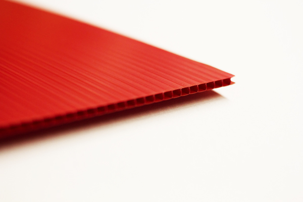 Plasticore 10 pack 4MM 24 x 36 RED