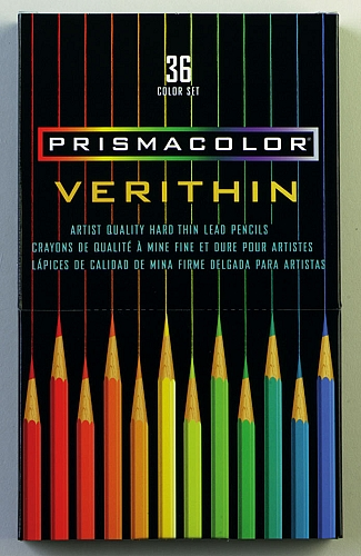 12 Pack Of Verithin Pencils Violet Blue