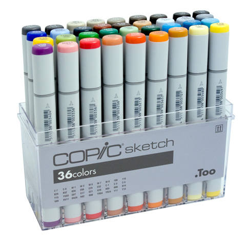 Copic Markers Original Set 36 Pc | Copic | Pens Markers | 480 x 469 jpeg 66kB
