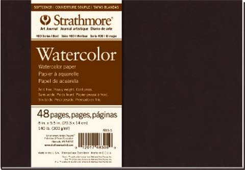 Strathmore Watercolor Soft Cover Art Journal 7.75 X 9.75