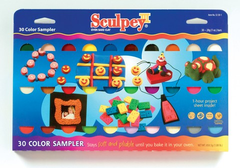 Sculpey Multipack 30 Color Set