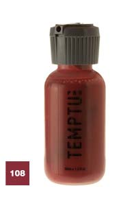 Temptu Pro Dura Ink 108 Brick Red 4 oz