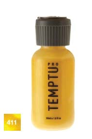 Temptu Pro Dura Ink 411 Yellow Effects 4 oz